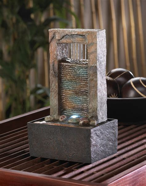 home decor fountain cascading water tabletop fountain wholesale at koehler