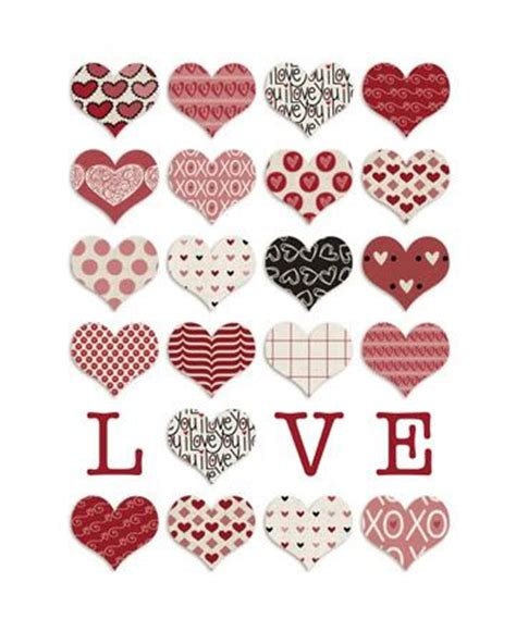 printable heart stickers free 68 best valentine s day labels templates and printables