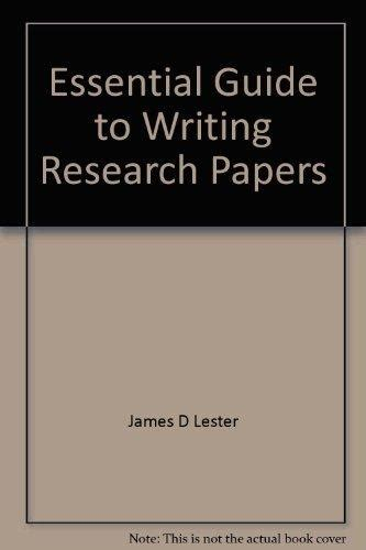 guide to writing research papers writing across the curriculum to accompany writing