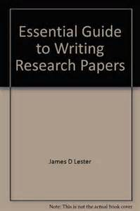 writing research papers lester writing across the curriculum to accompany writing