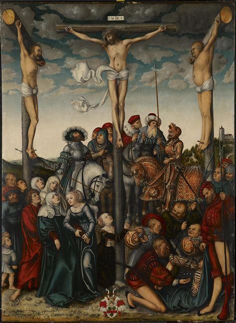 of jesus the wiki the crucifixion cranach