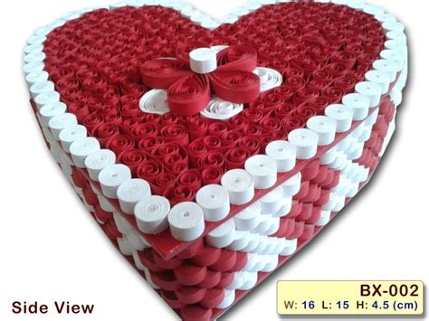 How To Make Handmade Box - handmade quilled boxes handcrafted paper quilling box