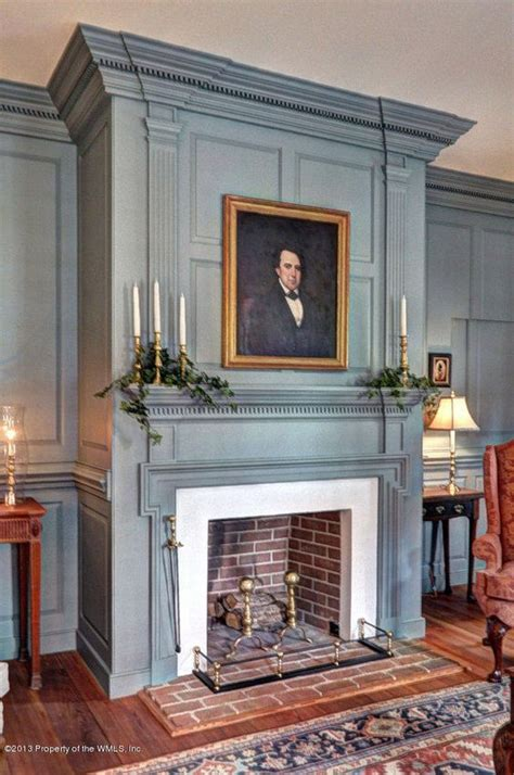 Colonial Fireplace by 2989 Kitchums Williamsburg Va 23185 Portrait