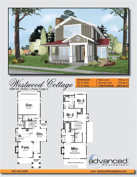 1000 Ideas About Narrow House Plans On Pinterest Small House Plans With Wide Front Porch