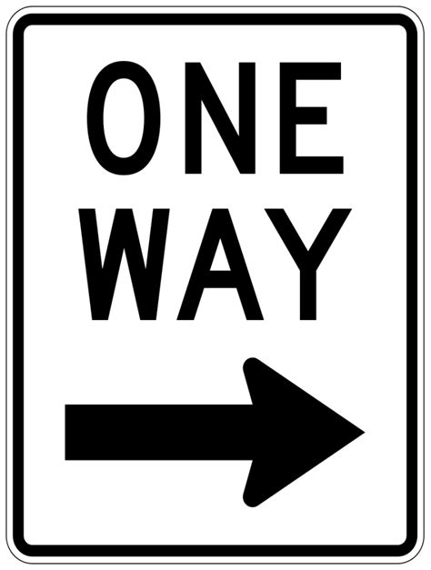 printable one way road sign one way sign clip art cliparts co