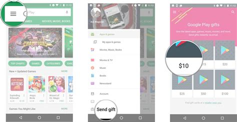 Send A Google Play Gift Card - how to buy and email a google play gift card android central