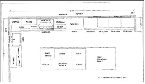 Layout Kitchen Cabinets Layout For Kitchen Cabinets Afreakatheart