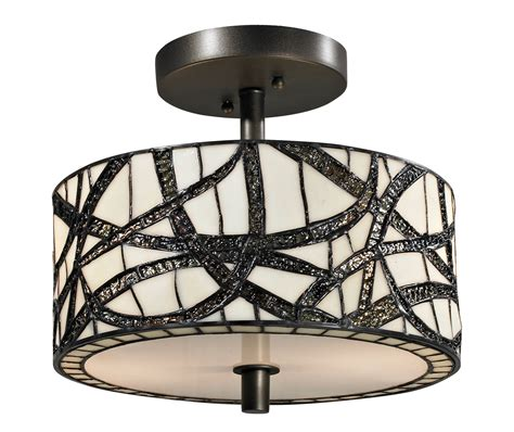 cottage light fixtures dale th12413 willow cottage modern semi flush mount ceiling light fixture