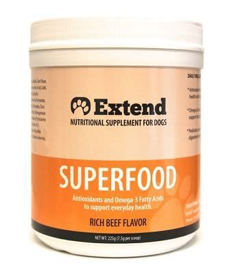 extend for dogs extend superfood for dogs 1 month supply antioxidant supplement 100 price