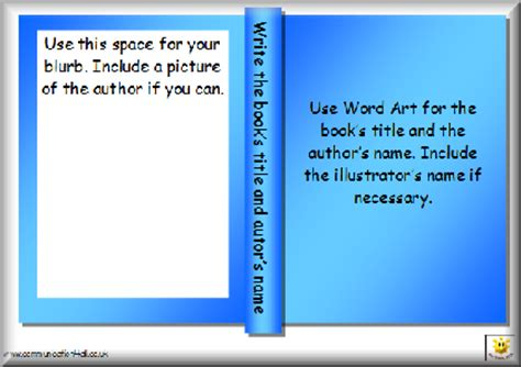 blurb book templates literacy