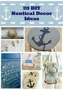 Nautical decor craft ideas diy holiday amp winter ib designs usa