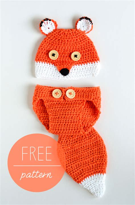 Baby Hat And Cover croby patterns crochet baby hat and cover fox
