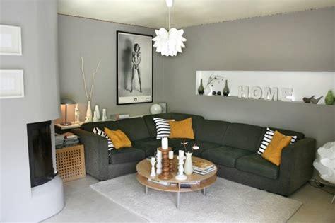 wohnzimmer farben grau trendfarbe einrichtungsideen in der farbe grau solebich de