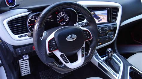 kia optima carbon fiber steering wheel socal