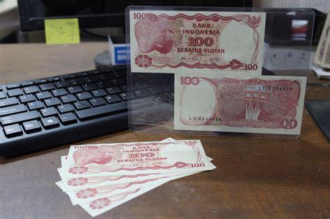 Uang Kuno 100rp Tahun 1984 jual uang kuno 100 rupiah 1984 uang lama