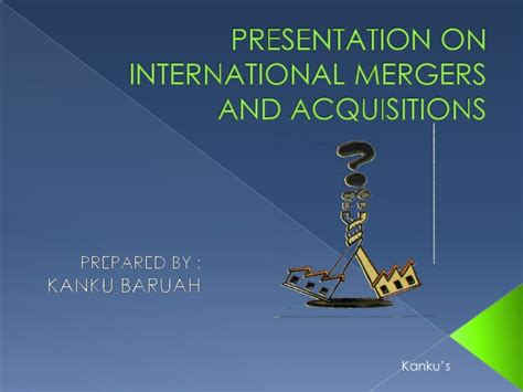 Merger And Acquisition Book For Mba by International Mergers And Acquisitions