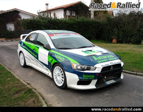 cars for sale mitsubishi mitsubishi lancer evo x rally cars for sale at raced