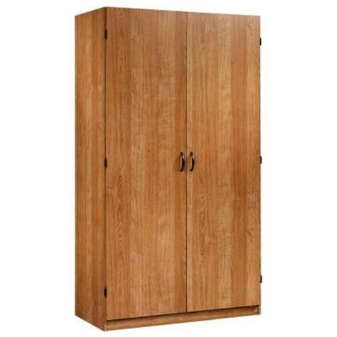 sauder beginnings wardrobe and storage cabinet sauder beginnings collection particle board wardrobe