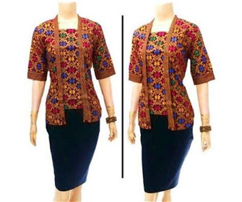 Seragam Kantor Blezer Wanita Kancing 4 model baju batik lengan 3 4 bnews berita news