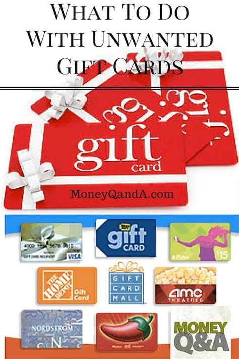 Where To Cash In Unused Gift Cards - what should you do with your unwanted gift cards