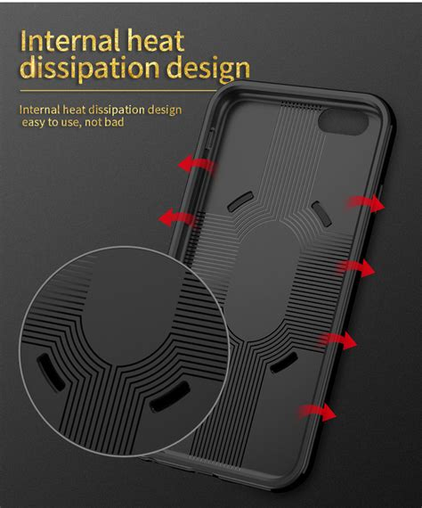 Ipaky 3 In 1 With Ring Holder For Iphone 5 5s 5g 6s 6plus 7 7plus 1 ipaky pc tpu hybrid with ring holder stand for