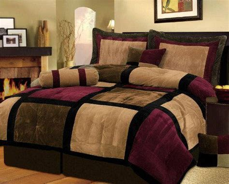 wine colored bedding google search for the home