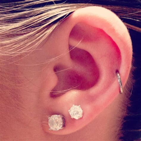125 best images about ear piercing pictures on