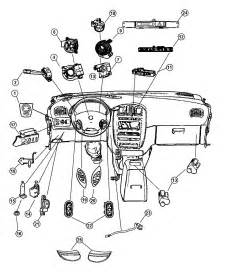 Chrysler Town And Country 2006 Parts 2006 Chrysler Town Country Switches Instrument Panel