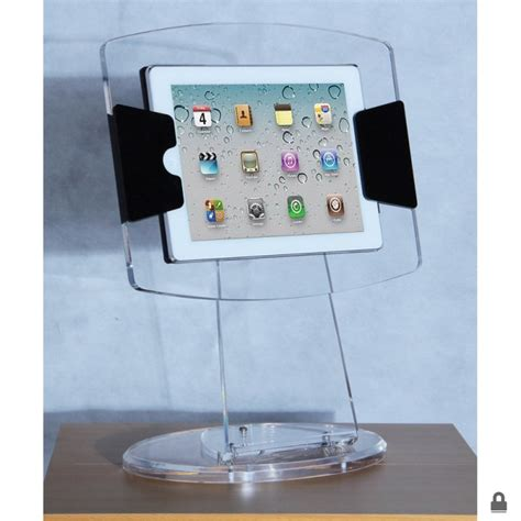acrylic ipad stand clear acrylic ipad display case stand