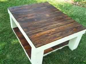 Coffee Table With Pallets Reclaimed Pallet Wood Coffee Table 101 Pallets