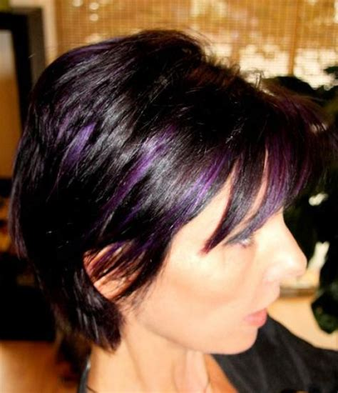 how does purple shoo work on recent highlights purple hair color with highlights hairstylegalleries com