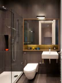 Inspiration for a small contemporary 3 4 corner shower remodel in