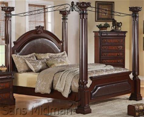 california king canopy bedroom sets empire 5 piece bedroom set cal king canopy bed 2