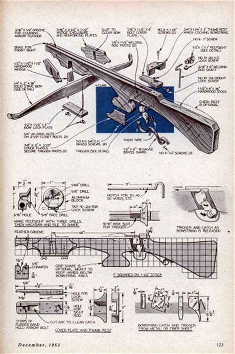 making a blueprint crossbow plans build your own crossbow crossbow designs