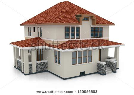 new 3d house isolated on white background 3d house stock images royalty free images vectors