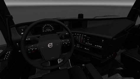 volvo 2012 black orange interior ets 2 mods volvo fh16 2012 black interior 1 27 x ets2 ets2 mod