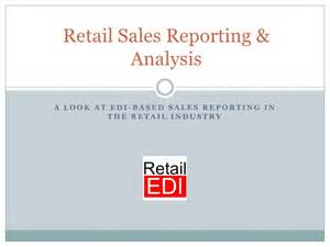 retail sales reporting amp analysis