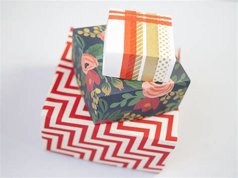Fold Paper Into A Box - diy how to fold a paper box creativebug