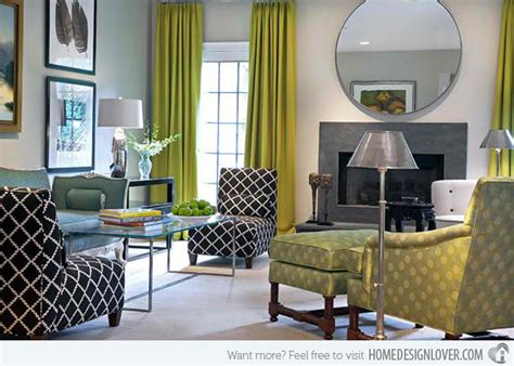 15 contemporary grey and green living room designs house