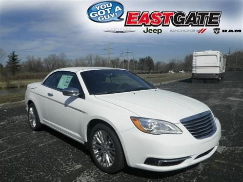 Eastgate Chrysler Indianapolis by Chrysler 200 Convertible Go Ahead Put The Top