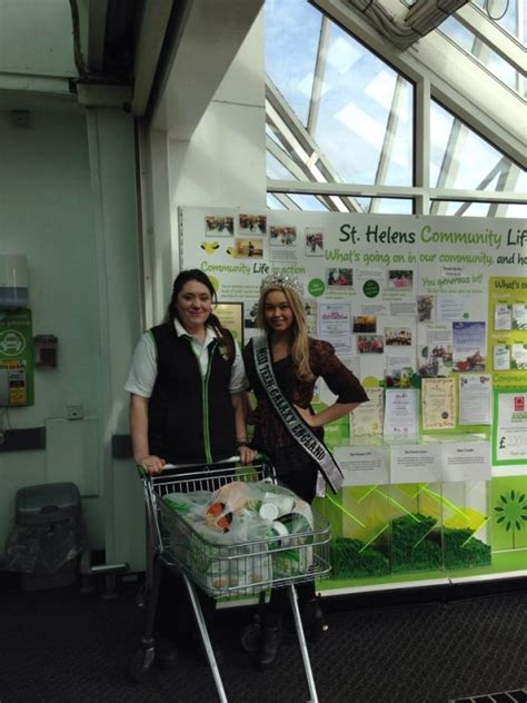 Bethany Food Pantry by Bethany Cammack Miss Galaxy Collected Food