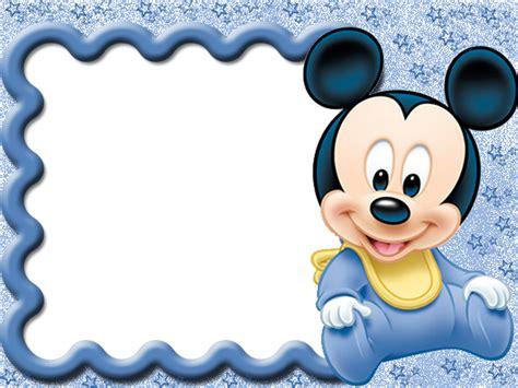 imagenes niños png marcos para photoshop y algo mas mickey y sus amigos bebes