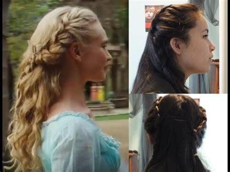 movie themes for hair styles disney s cinderella hair tutorial youtube