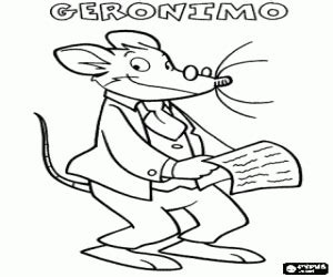 geronimo stilton coloring pages printable games