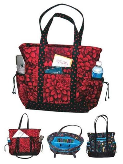 Pattern For Professional Tote Bag | professional tote sewing pattern sewing project ideas