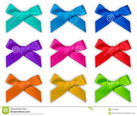 colorful bows colorful ribbon bow bows stock photos image 27103683