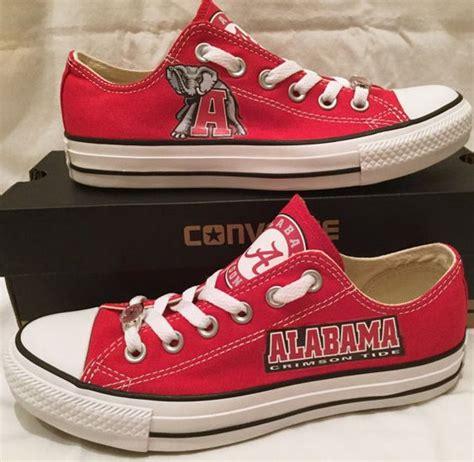 alabama converse shoes of alabama converse chuck by pimpmykickz