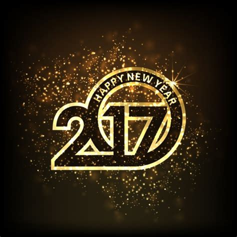 new year background luxury numbers vector free download