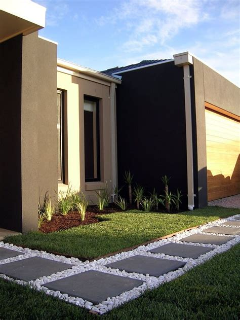 Landscape Design Using A Picture Of My House Best 25 Modern Front Yard Ideas On Large