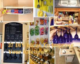 Diy Ideas For Kitchen by 37 Diy Hacks And Ideas To Improve Your Kitchen